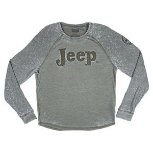 Jeep Spirit 1941 Green Fitted Long Sleeve T-Shirt